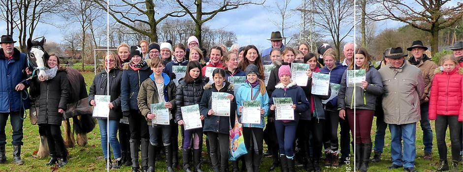 21 Teilnehmer für den Basispass bei den Kutschen-Freunden Herzebrock-Clarholz