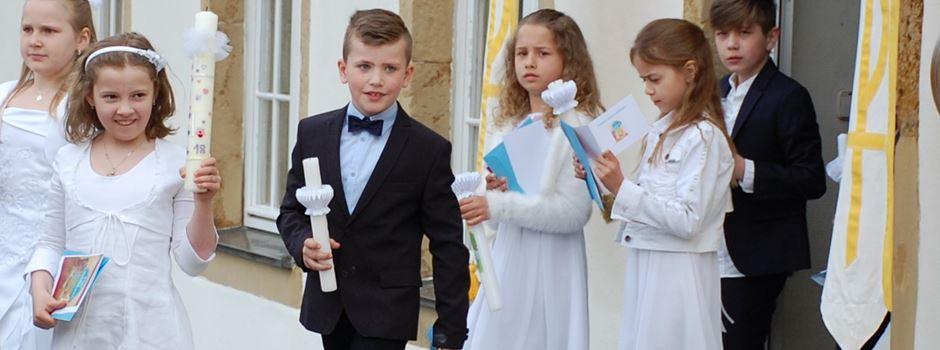 Erstkommunion in Herzebrock 2018