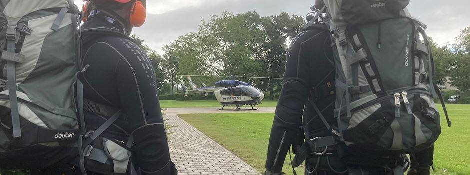Mainzer und Wiesbadener Einsatzkräfte retten Menschen aus Hochwassergebiet