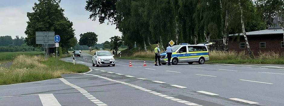 Motorradfahrer nach Unfall schwer verletzt