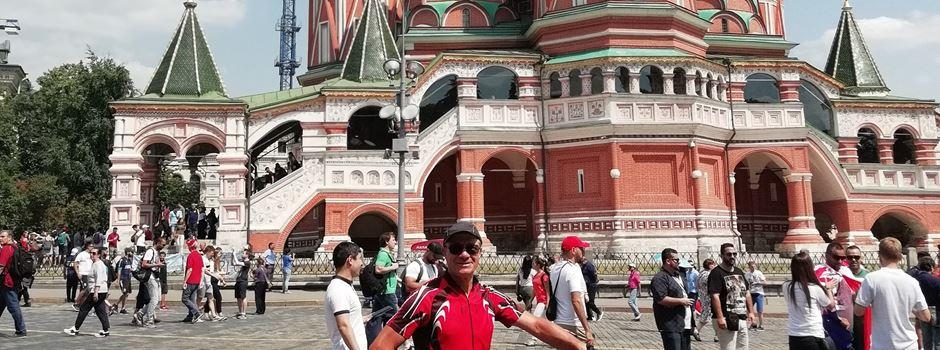 Mainzer fährt mit dem Rad zur WM nach Russland