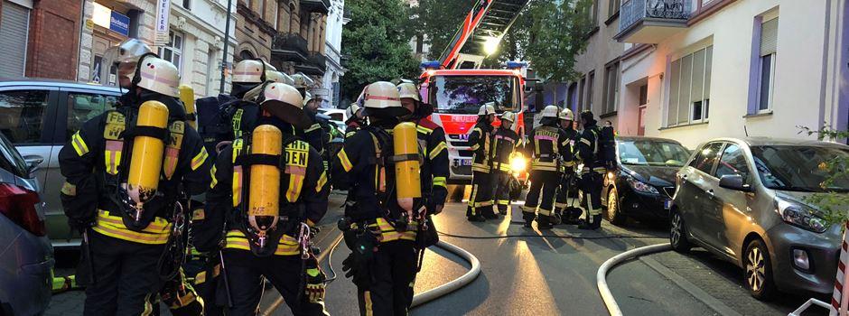 Feuer in Albrechtstraße - Brandstiftung?