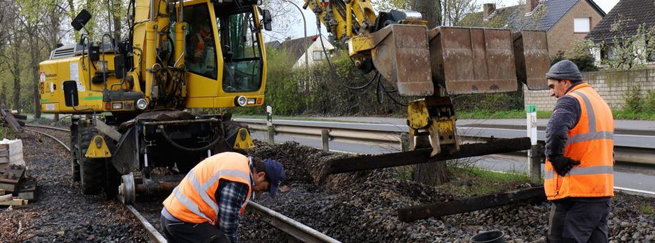 Gleisbettsanierung in Niederkassel