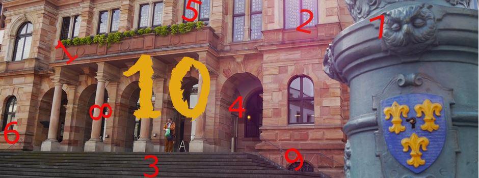 Unnützes Wissen: Wiesbaden von 1 bis 10