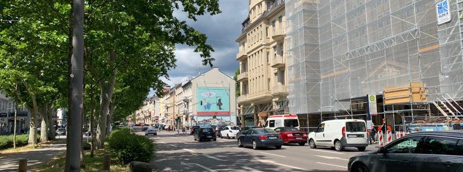 Fahrstreifen auf Rheinstraße und Schwalbacher Straße fallen weg