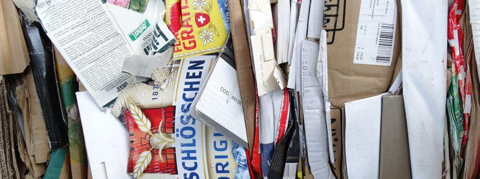 Kirchengemeinde sammelt Altpapier