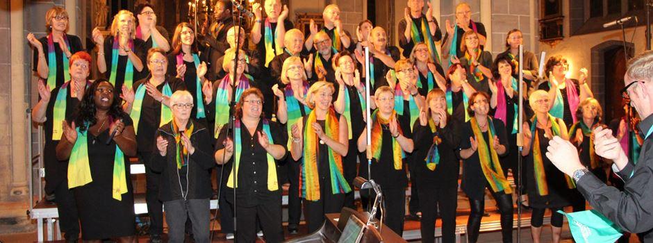 Herzebrocker Rainbow-Gospelchor bei Gospelkirchentag in Braunschweig