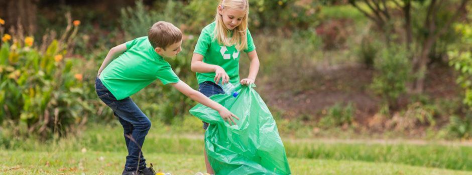 Wiesbadener Kinder werden für Reinigung von Schulwegen belohnt
