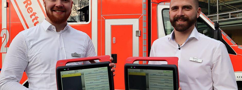 NIDApad: Der digitale Helfer für Rettungsdienste