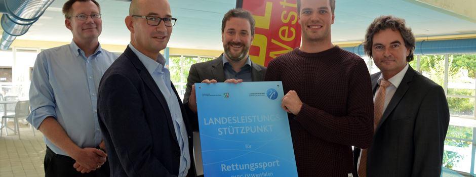 Hallenbad Herzebrock neuer NRW-Landesleistungsstützpunkt