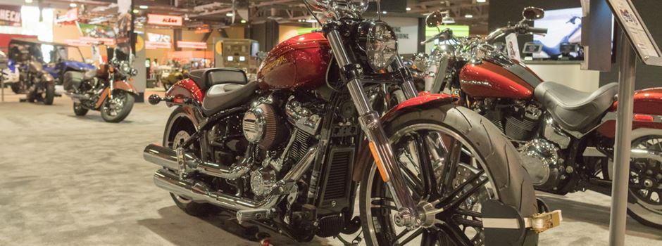 Die erste Internationale Motorradausstellung im RMCC steht an