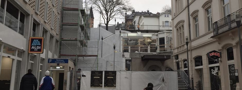 Wie es mit der maroden Treppe am Parkhaus Coulinstraße weitergeht