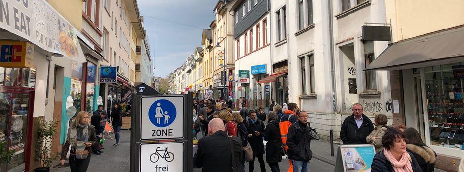 Fußgängerzone Wellritzstraße ist eröffnet