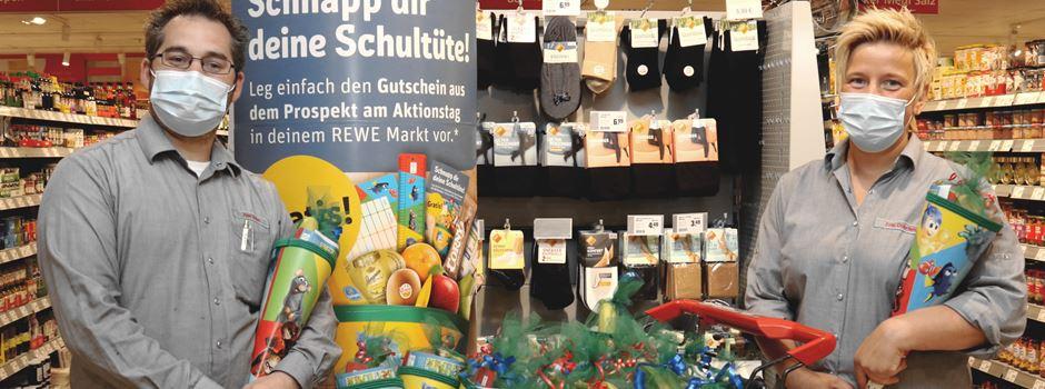 """""""Schnapp dir deine Schultüte"""" - REWE-Aktion für neue Erstklässler in Niederkassel"""