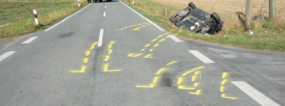 Schwerer Unfall auf der Greffener Straße