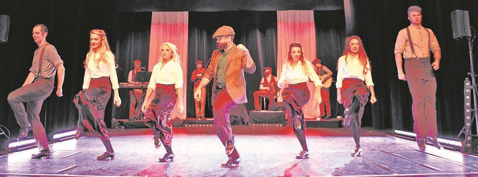 Irische Tanzshow in der Aula