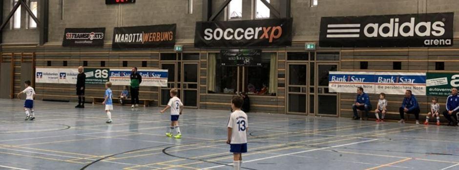 Jugendfußball in der Halle