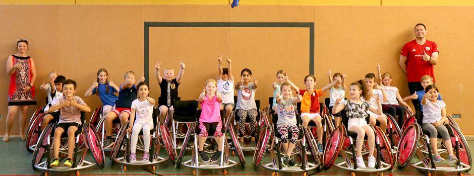 Rollstuhlbasketball zu Gast in der KGS Niederkassel