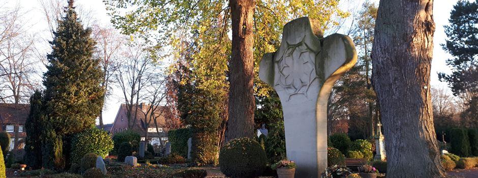 Fotos vom und Dokumente über den Friedhof gesucht