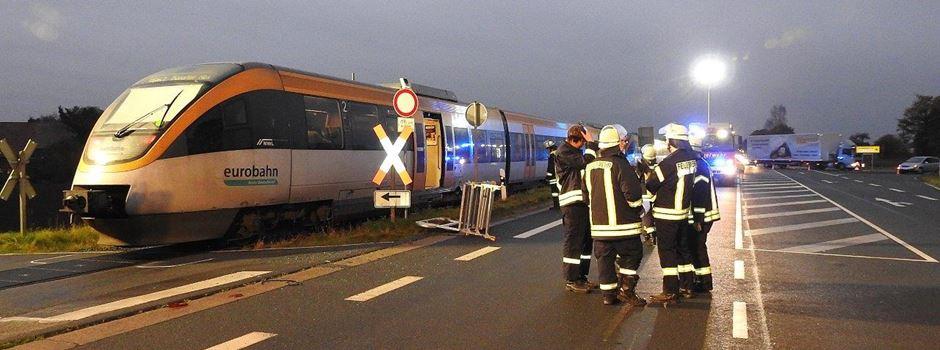 Unfall am Bahnübergang in Clarholz/Beelen