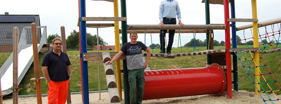 Neuer Spielplatz in Herzebrock-Clarholz
