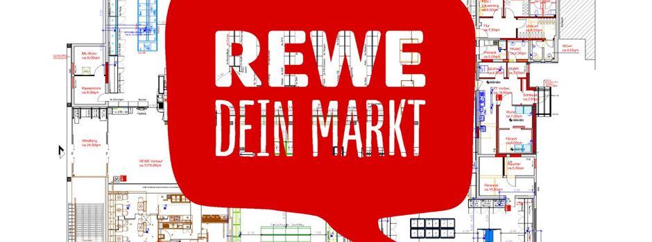 Werbung: Neuigkeiten zum Umbau des REWE Markts in Herzebrock