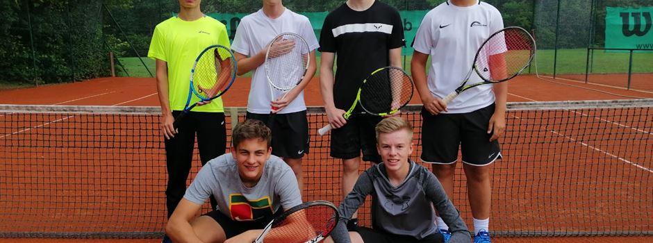 Erneuter Aufstieg der U18 Junioren des TC Herzebrock
