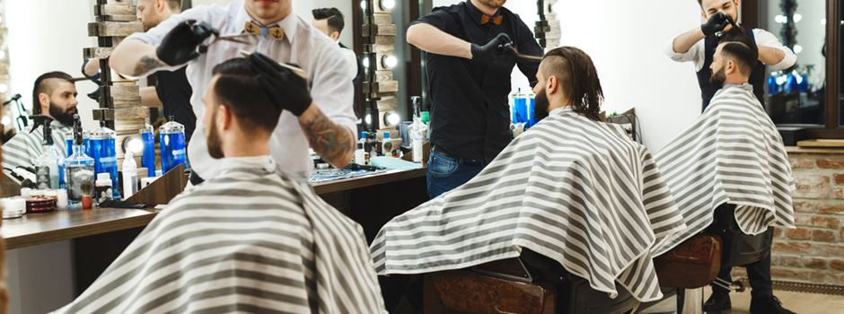 Wie ein Friseurbesuch unter Corona-Schutzmaßnahmen aussieht