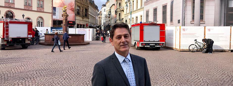 Dieser Mann will Wiesbadens Innenstadt besser machen