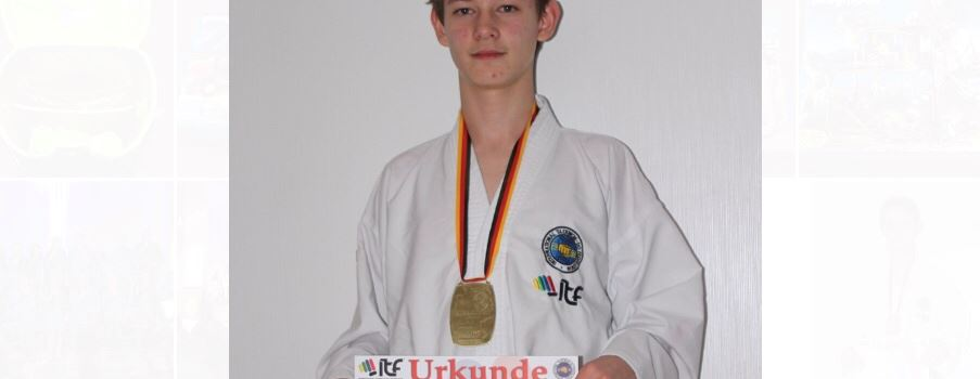 Nazar Boichuk holt erneut DM-Titel im Taekwondo