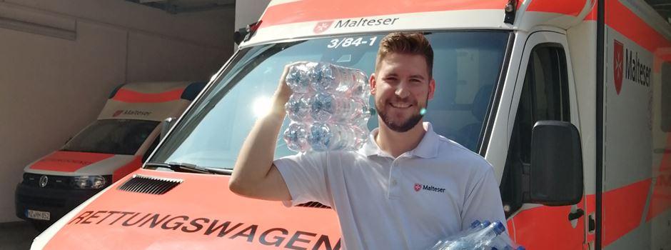 Mainzer versorgt Obdachlose mit Wasser