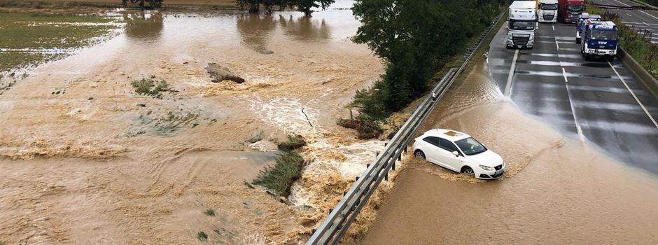 Soforthilfe für Betroffene der Unwetterkatastrophe