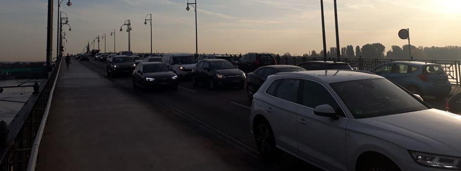 Verkehrschaos im Stadtgebiet: Hechtsheimer Tunnel gesperrt