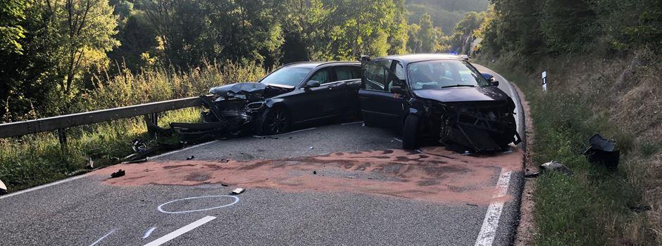 Unfall bei Stromberg: Mehrere Verletzte