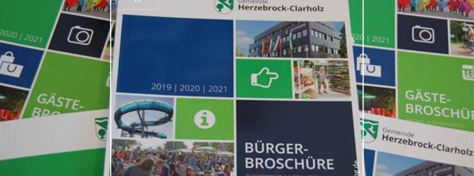 Neue Bürgerbroschüre für Herzebrock-Clarholz in Vorbereitung