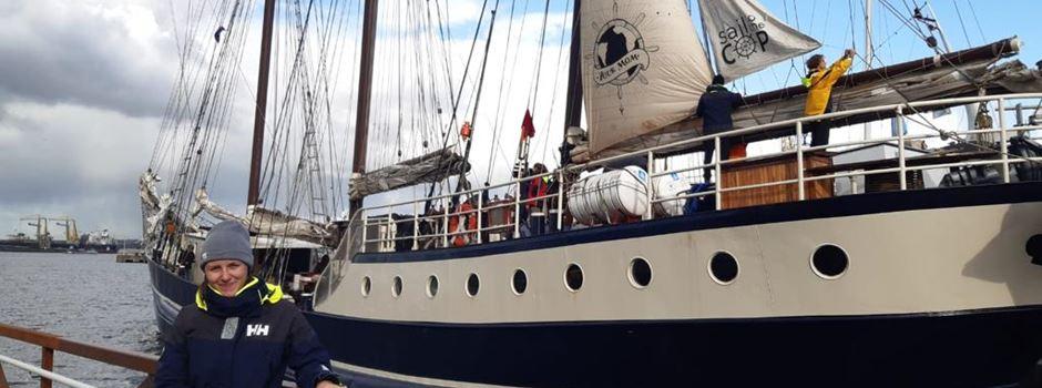 Wiesbadener Studentin segelt zur Klimakonferenz nach Chile
