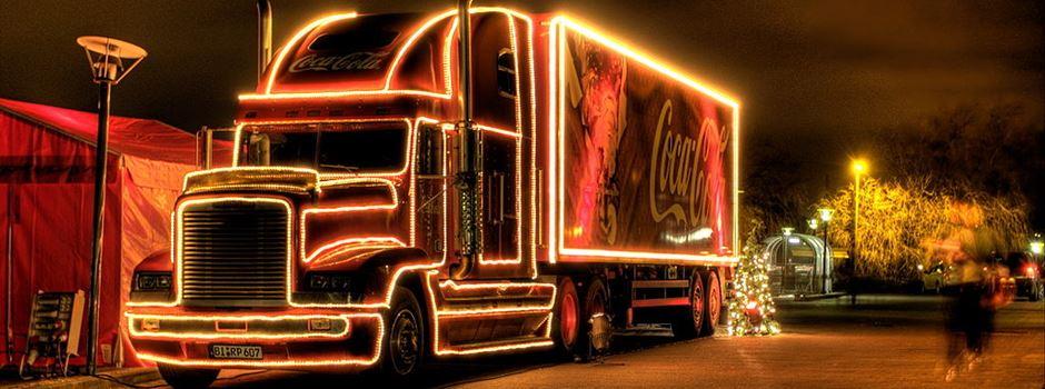 Update Fünf Coca Cola Trucks Kommen Nach Mainz