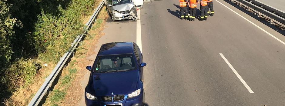Vermeintliche Wespe sorgt für großen Verkehrsunfall auf der Saarstraße