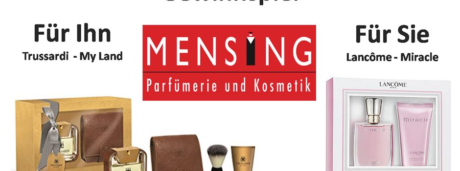 Gewinnspiel: Parfümerie Mensing