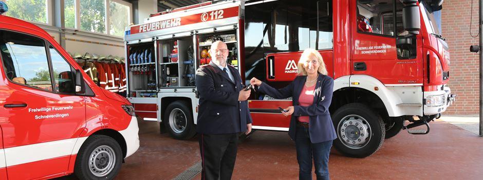 """""""Schlüsselerlebnis"""" bei der Schneverdinger Feuerwehr: Zwei neue Fahrzeuge"""