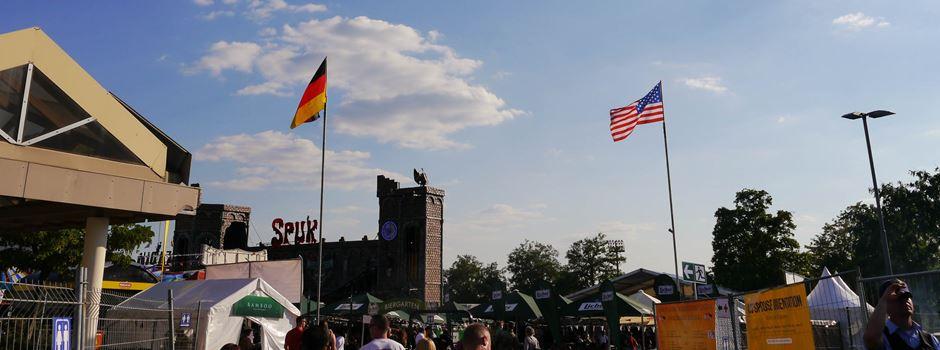 Sechs Tage Deutsch-Amerikanisches Feiern auf dem Hainerberg