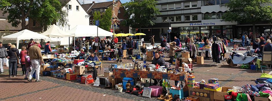 Familienflohmarkt auf dem Rathausplatz