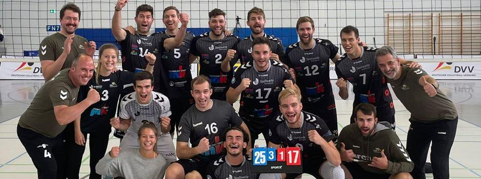 Volleyball: Mondorf mit erfolgreichem 6-Punkte-Wochenende