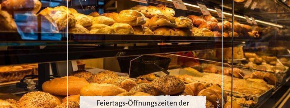 Fronleichnam: Öffnungszeiten der Bäckereien