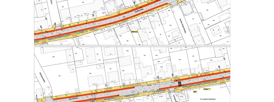 Hochstraße: Sanierungs-Plan sieht drastischen Wegfall von Parkplätzen vor