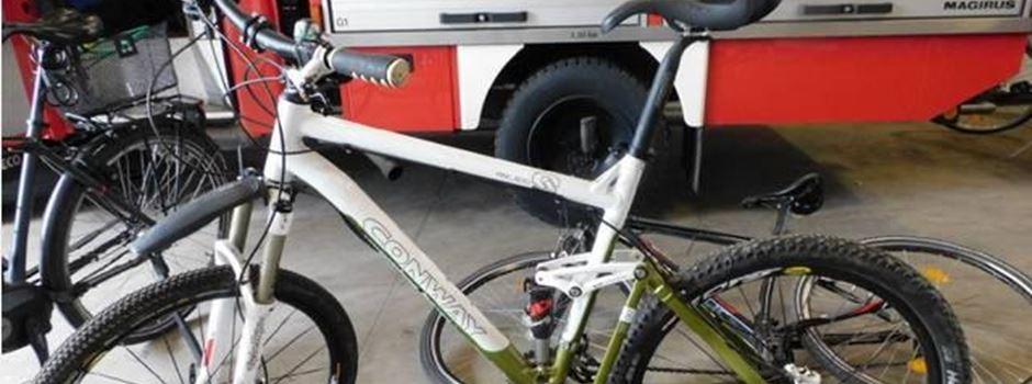 Polizei findet fünf Fahrräder