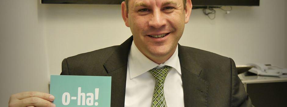 So verabschieden sich die Wiesbadener von Sven Gerich als Oberbürgermeister