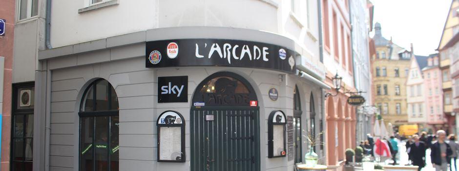 Das L'Arcade hat geschlossen
