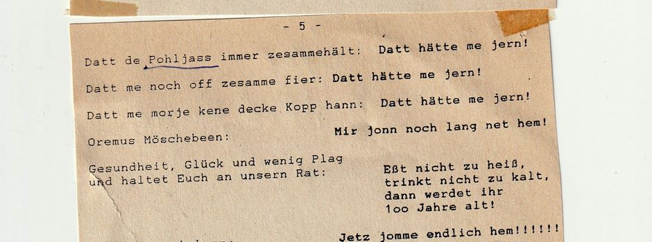 """Geschichten aus der Niederkasseler """"Bücherzelle"""" - Gedicht gefunden"""