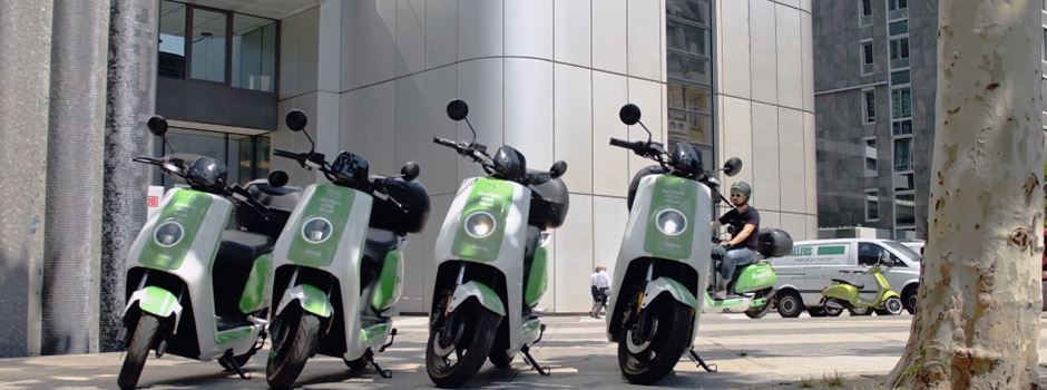 """Meenz-e"": Neue E-Motorroller ab Montag verfügbar"
